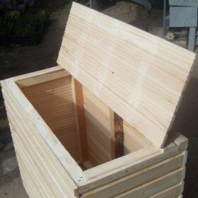 Обустройство балконов ящики для хранения