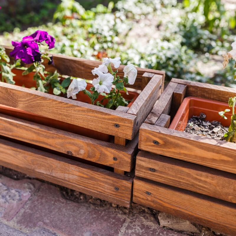Ящики для цветов